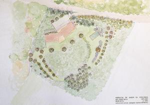plano diseño jardín puigcerdá