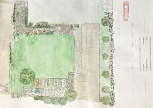 plano proyecto jardin